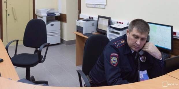 Полицейские из Хорошевки задержали приезжих грабителей