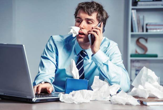 Можно ли ходить на работу, если вы простудились. Изображение номер 2