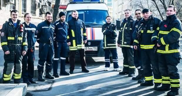 Оператор Службы 112 принимал участие в разборе завала в городе Орехово-Зуево