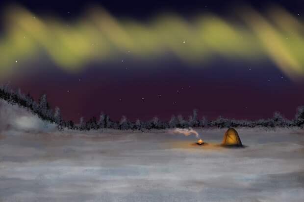 В самый северный город США на два месяца пришла ночь