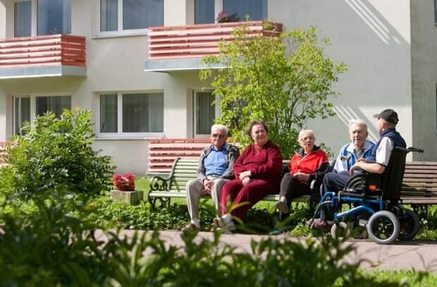 В каких квартирах живут пенсионеры в Эстонии