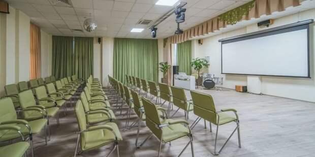 Собянин открыл новое здание клуба «Современник» на северо-западе Москвы Фото: Е. Самарин mos.ru