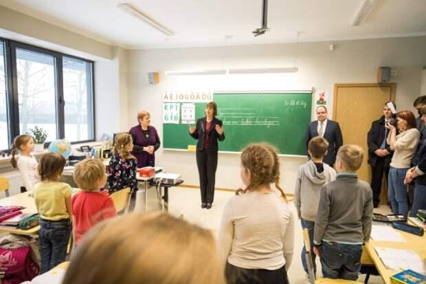 Эстония решила прекратить финансирование русскоязычных школ и детских садов