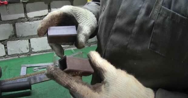 Как сделать столярные струбцины-ваймы из профильной трубы