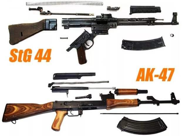 АК vs StG 44 кто у кого скопировал? Долгий спор.