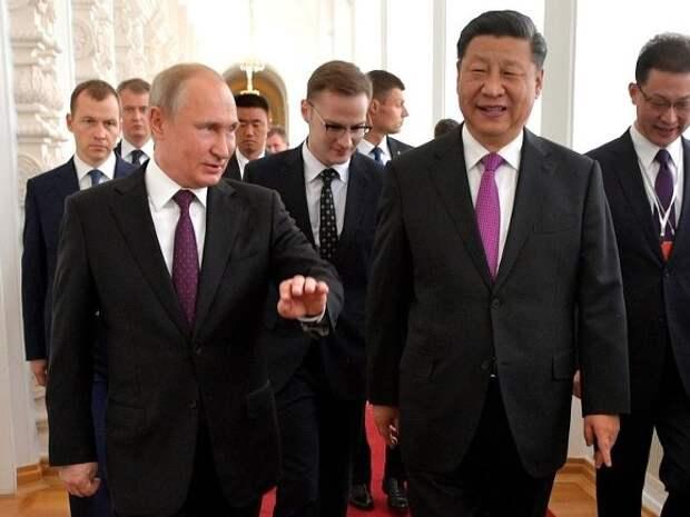 Пекин: Путин и Си Цзиньпин дадут старт возведению атомного объекта