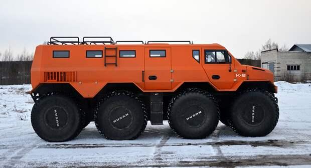 Новый вездеход в России — РУСАК-3994