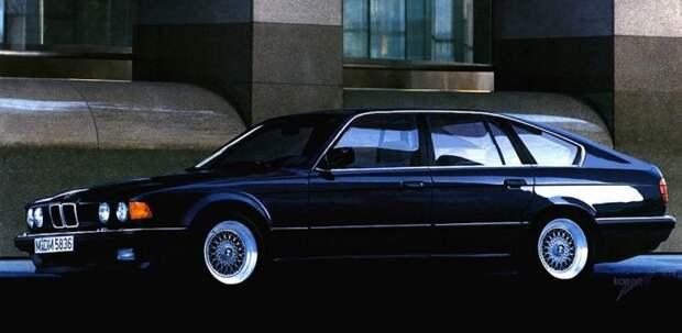 BMW е32 авто, автодизайн, автомобили, дизайн, фотомонтаж, фотошоп, юмор, янгтаймер