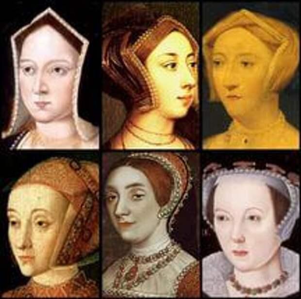 жёны Генриха VIII Тюдора