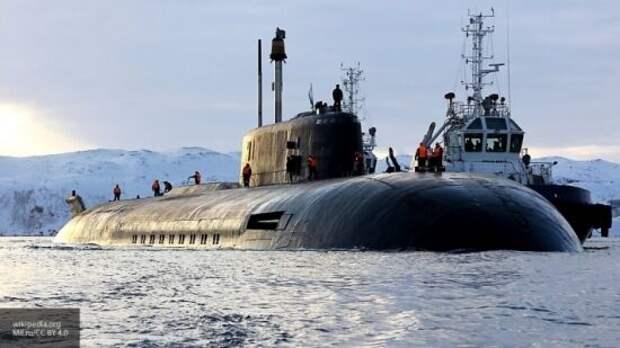 Российская подлодка обратила в бегство авианосец США