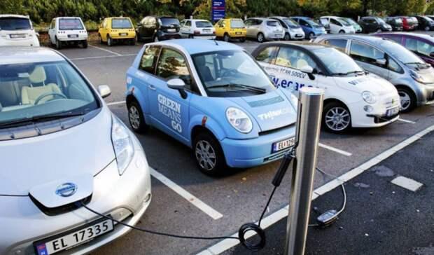 Доля продаж гибридных иэлектрических автомобилей нарынке Норвегии превысила90%