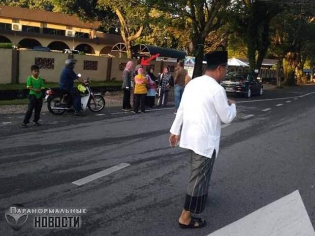 Странный «скачок во времени» или «глюк Матрицы» произошел в Малайзии