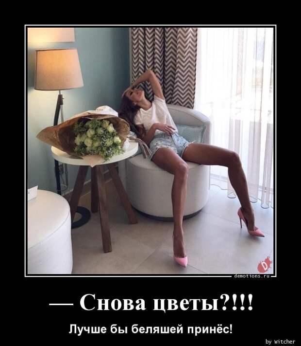 Снова цветы?!!! » Demotions.ru - ДЕМОТИВАТОРЫ.