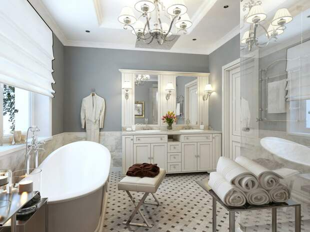 Декоративные элементы для ванной комнаты