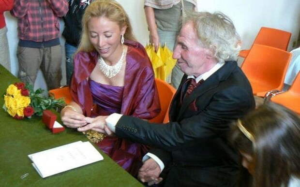 Торжественная церемония бракосочетания.