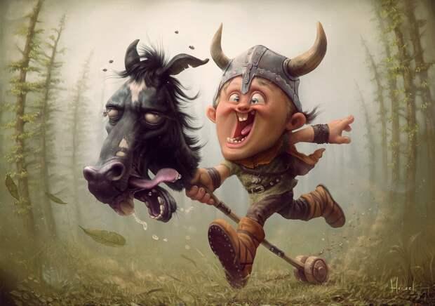 Выпотроши птицу, утопи товарища, обгони лошадь…— ты викинг! (обзор средневекового КМБ скандинавов)