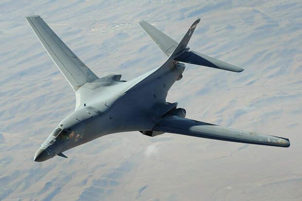 Бомбардировщик B-1B ВВС США получил серьезные повреждения в Норвегии