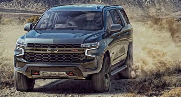 Большой рамный внедорожник Chevrolet Tahoe