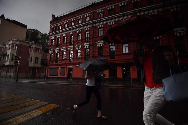 В Москве 8 мая 2021 стало самым дождливым днем в мае за всю историю метеонаблюдений