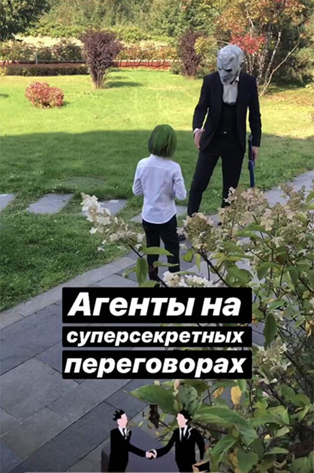 Дочь Натальи Ионовой и Александра Чистякова Вера