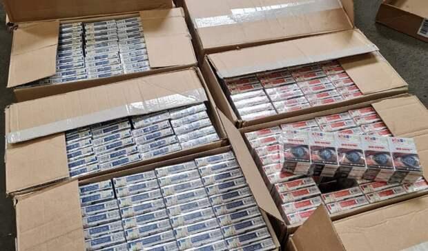 На табачном складе в Орске изъяли почти 10 000 пачек сигарет