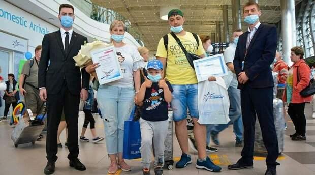 Аэропорт Симферополя обслужил с начала года 2 млн пассажиров
