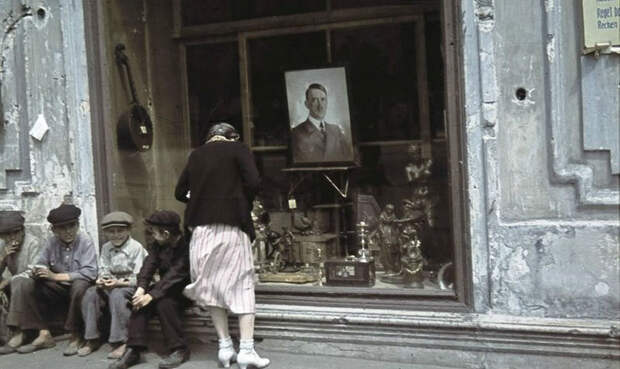 Харьков времен немецкой оккупации вцвете