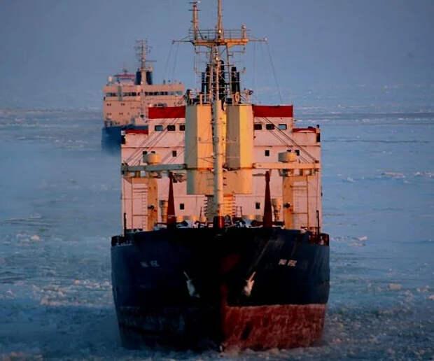 Как один контейнеровоз в Африке, приводит в движение десятки ледоколов в Арктике...