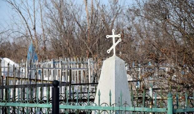 Миномётный снаряд времён Сталинградской битвы нашли на волгоградском кладбище