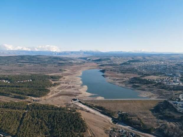 Крымчане обратились к Киеву после чудесного заполнения Симферопольского водохранилища