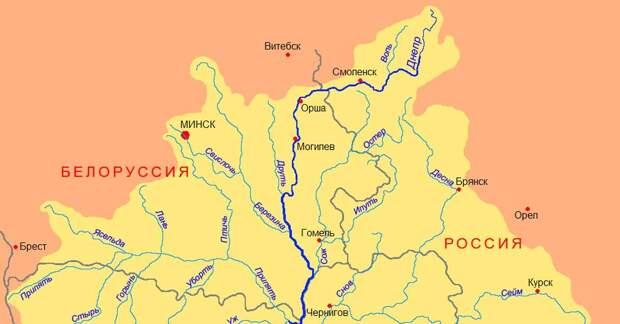 На украинском ТВ сообщили о возможности перекрытия Россией вод Днепра
