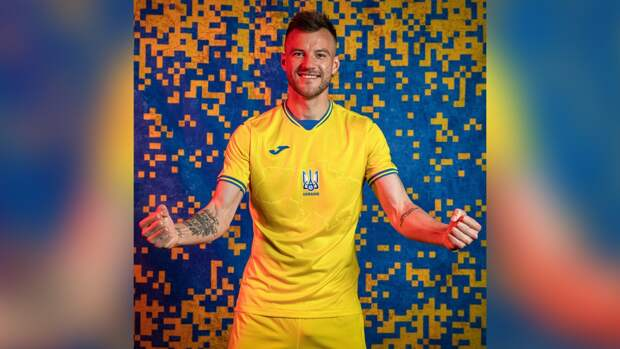 Контуры Крыма на форме украинских футболистов посмешили общественность