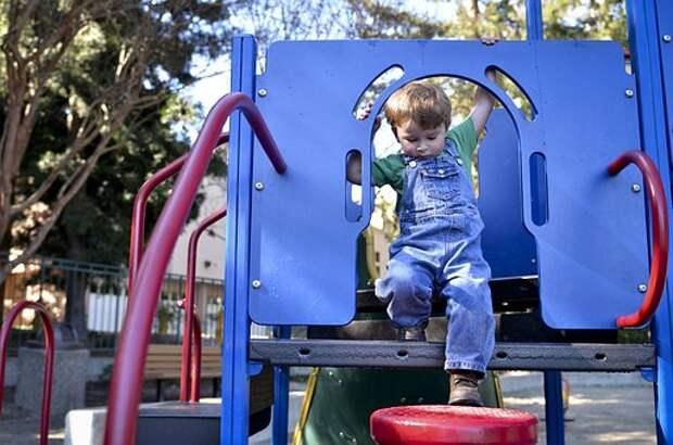 Детская Площадка, Ребенок, Активные