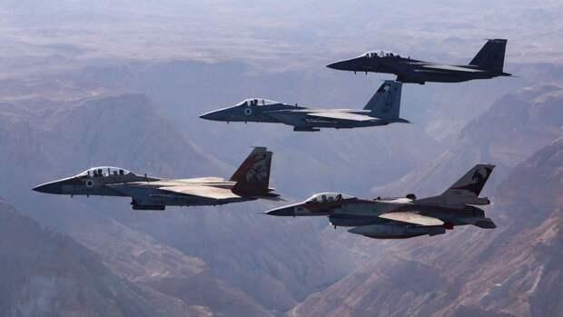 Армия Израиля сообщила об авиаударе по объекту военной разведки ХАМАС