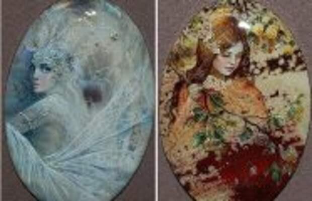 Art: Виртуозные миниатюры на украшениях из натуральных камней, которые на Западе называют «русским чудом»