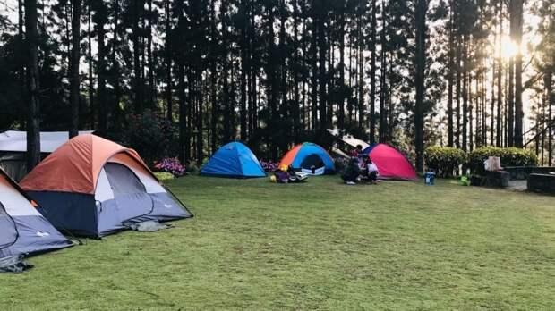 Туристы назвали Крым лучшим российским регионом для отдыха в палатках