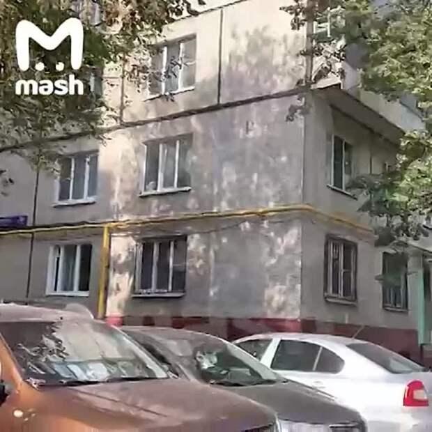 В«Магните» наСовхозной улице иподъезде дома, где ототравления...