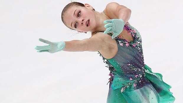 Трусова: «В этом сезоне мне удается катать программу более танцевально»