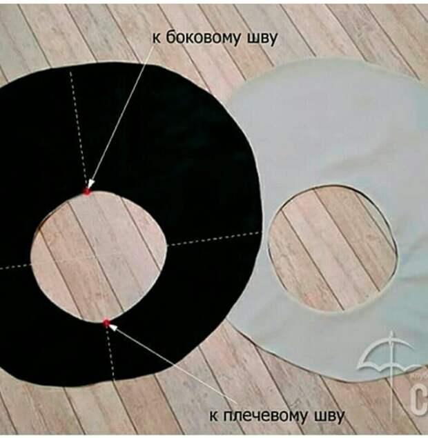 Круглые рукава (выкройка и МК)