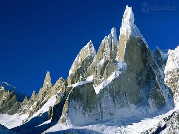 уникальные горы в патагонии