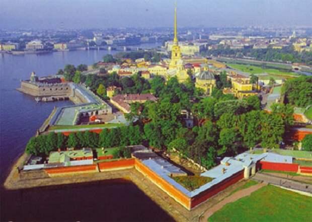 Петропавловская крепость и Святой Грааль