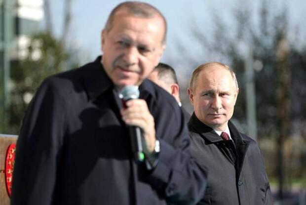 Турецкий обозреватель: Перед визитом в Россию Эрдоган заявил о «государственной мудрости» Путина и о «нечестном поведении» Байдена
