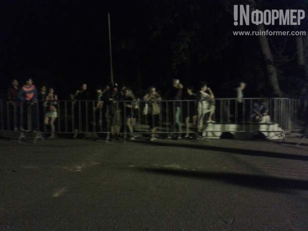 Севастопольская полиция ночью «зачистила» Исторический Бульвар (фото, видео)