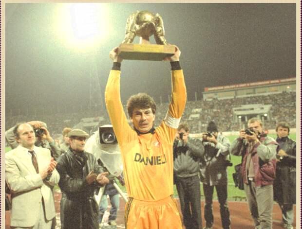 Ринат Дасаев - лучший вратарь мира 1988 года