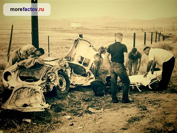 Проклятый автомобиль Джеймса Дина, по кличке «Маленький Ублюдок»