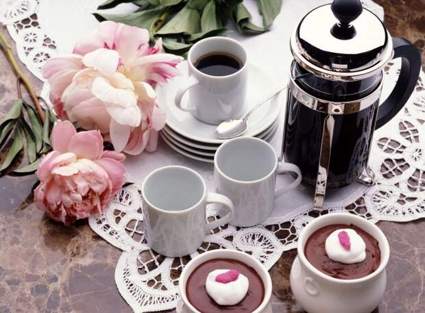 Кофейная сервировка стола