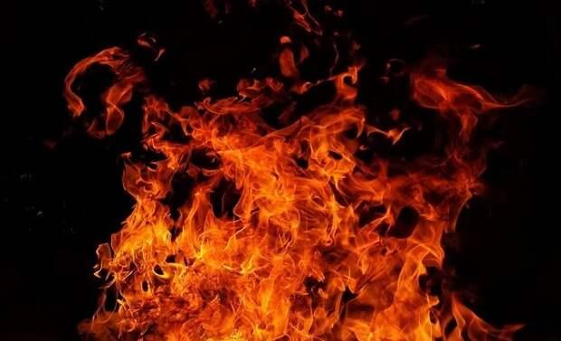 В Армавире пожар унес жизни двух человек