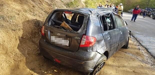 В Судаке спасатели ехали на ДТП и по дороге помогли человеку, которого сбила машина
