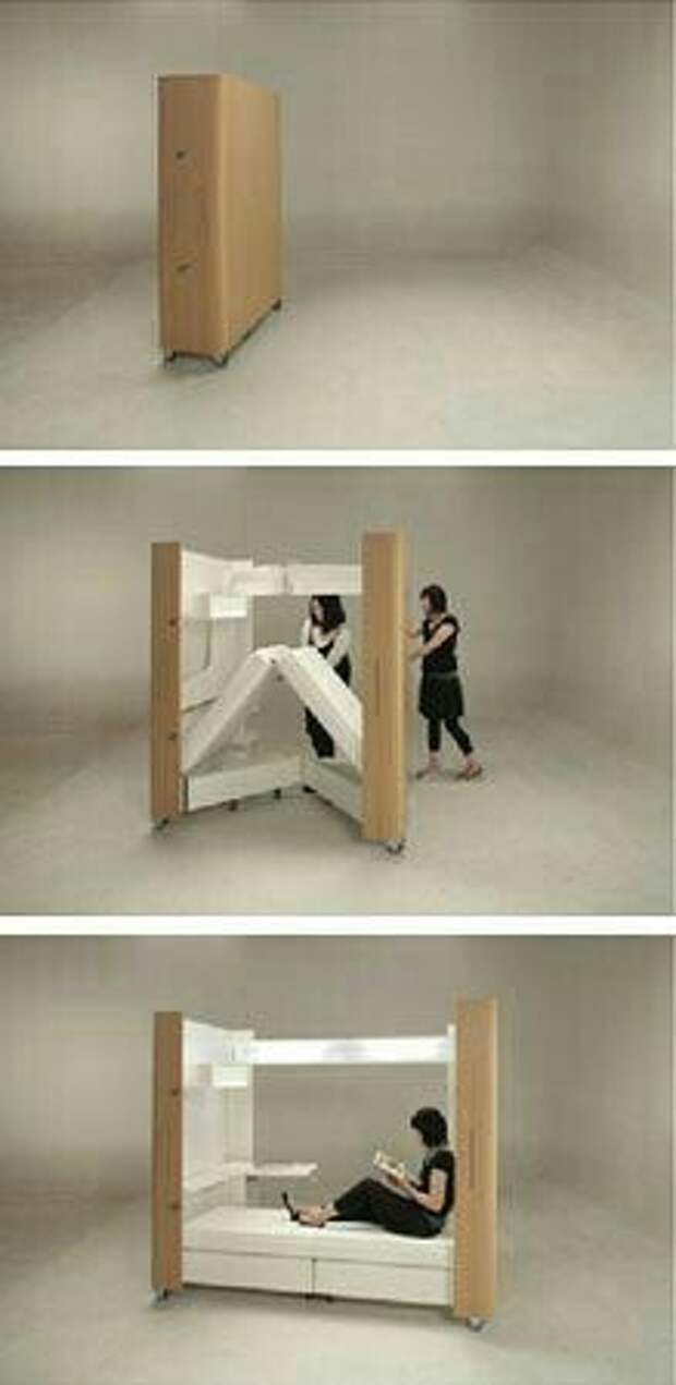 Необычная мебель на балкон (трафик)