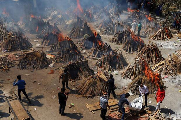 Новый всплеск COVID в Индии: людям угрожает «черный гриб»